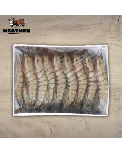 BLACK TIGER PRAWN SHELL-ON (16 - 20 PCS) (1kg)